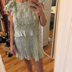 For Love and Lemons Mint Bohemian Dress